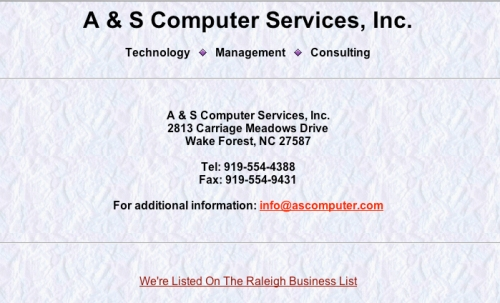 A & S Computer Services